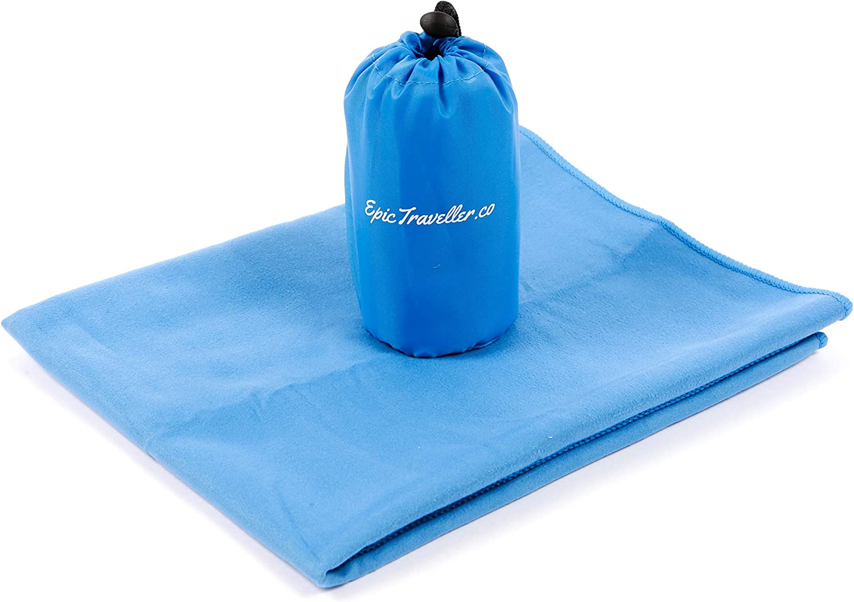 UK Outdoor Travel Camping Microfiber Quick-Drying Towel Sweat Absorbing Towel