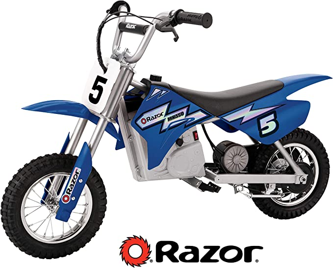 Razor MX350 Dirt Rocket Electric Motocross Off-road Bike for Age 13+