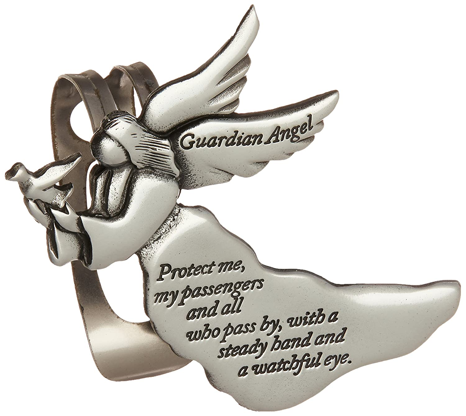 Cathedral Art KVC238 Angel Visor Clip, Guardian Angel, 2-3/8-Inch