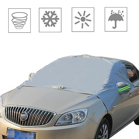 ambuker coche parabrisas cubierta de nieve, invierno hielo/Frost/protector de lluvia Parasol