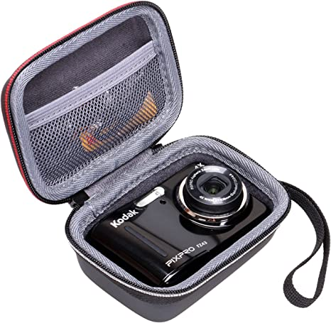 Estuche para cámara Digital Kodak FZ43 de XANAD, con Bolsillo de Malla para Cable: Amazon.es: Electrónica