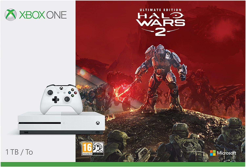 Microsoft Xbox One - Pack Consola S 1 TB Halo Wars 2: Amazon.es: Videojuegos