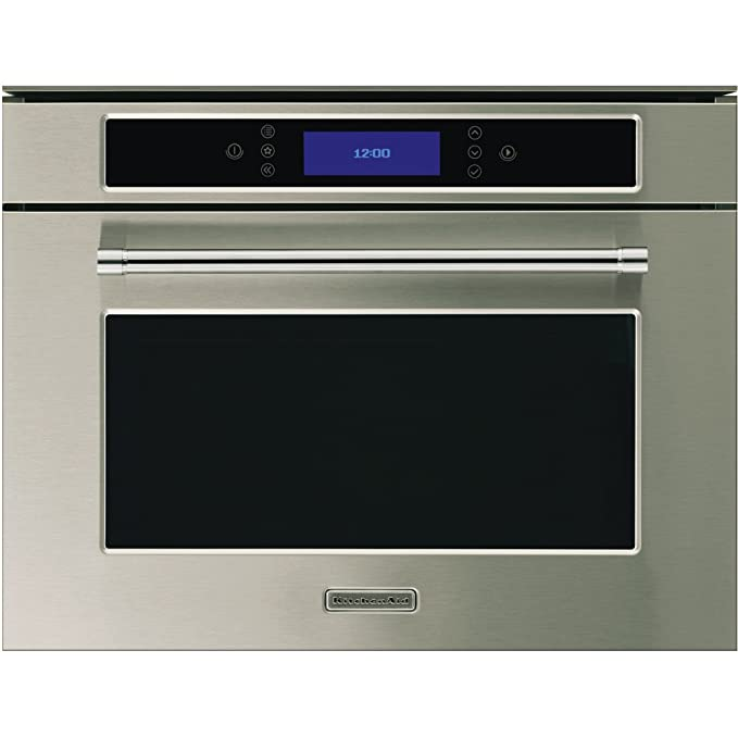 KitchenAid KOSV 4525 34L A Acero inoxidable - Horno (34 L, 34 L, Acero inoxidable, Botones, Frente, LCD): Amazon.es: Hogar