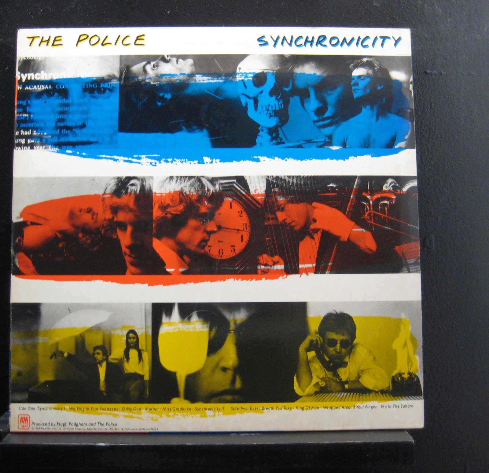 Police, The - Synchronicity - A&M Records - SP-3735 by A&M Records