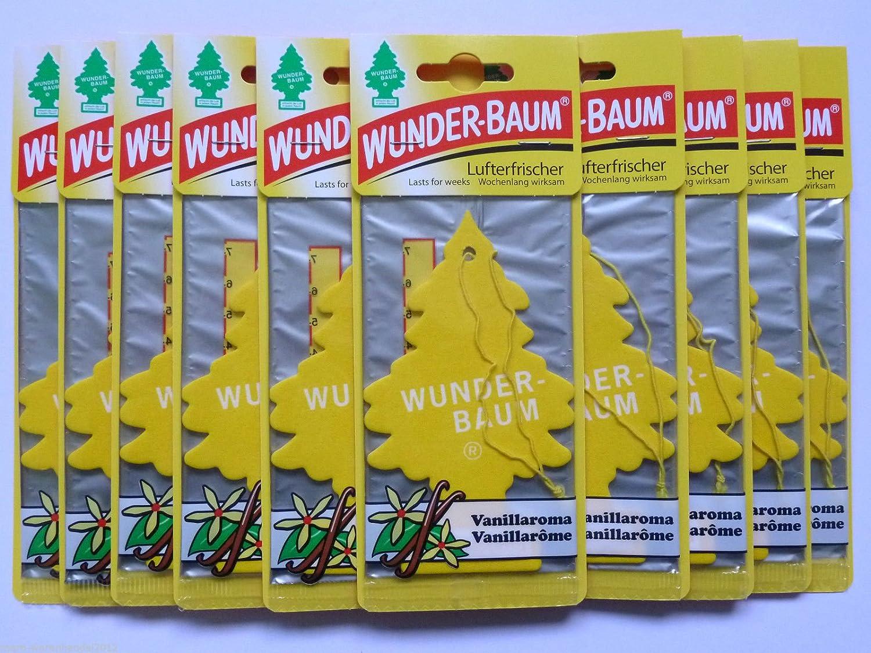10 X Wunder Baum Vanille Lufterfrischer Duftbaum Vanillaroma Elektro Großgeräte