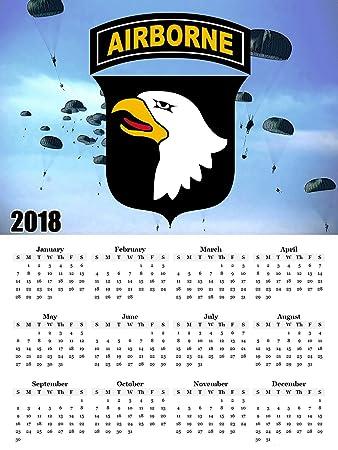 Amazon.com: 2018 Calendar Poster US Military Army Calendar Poster