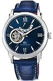 [オリエント]ORIENT 腕時計 ORIENTSTAR オリエントスター セミスケルトン 機械式 自動巻(手巻付) ミッドナイトブルー WZ0231DA メンズ