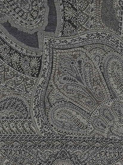 e85fb9ed567b Diwali Paris - Rajasthan - Echarpe En Laine Grise  Amazon.fr  Vêtements et  accessoires