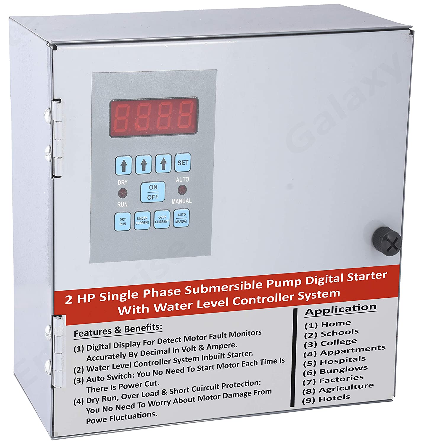 The Galaxy Enterprise 2 H P  Single Phase Fully Automatic