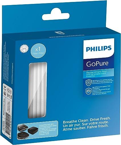 Amazon.es: Philips gsf120 X 110 X 1 Filtro de Repuesto para Auto purificador de Aire gopure Compact 100 Airmax