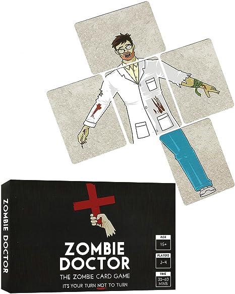 Zombie Doctor - El Juego de Cartas Zombie: Amazon.es ...