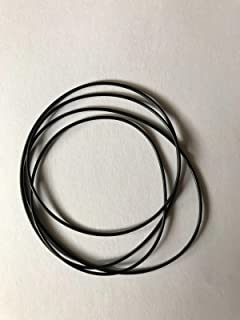 **NEW 4 Replacement BELT SET** for use with FISHER CASSETTE Player CR-W780A