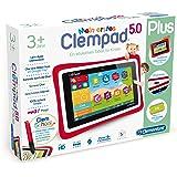 """Clementoni 69481.5 - Clempad, Tablet per bambini dai 3 anni in su, diplay da 5"""", Versione Tedesco"""