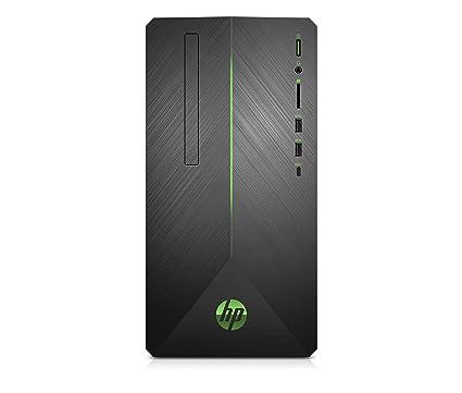 HP Pavilion Gaming 690-0045ns - Ordenador de sobremesa (Intel Core i5-9400, 8 GB RAM, 1TB HDD + 128GB SSD, NVIDIA GeForce GTX1060-6GB, sin sistema ...