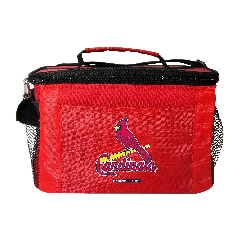 Kolder MLBチームロゴ 6パック クーラーランチバッグ B00L2LAODO St. Louis Cardinals Red St. Louis Cardinals Red