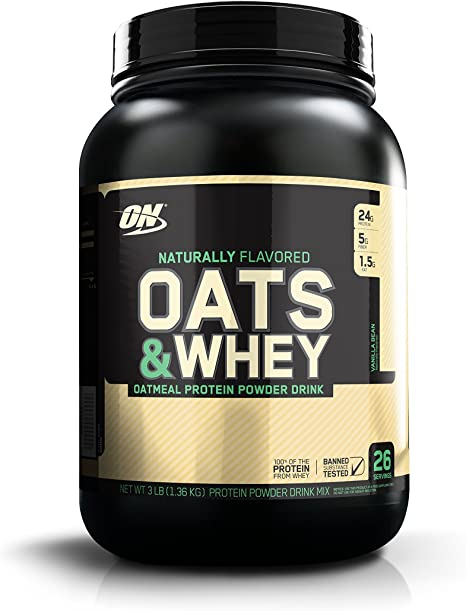 Optimum Nutrition Natural Oats&Whey Bebida de Avena y proteína ...