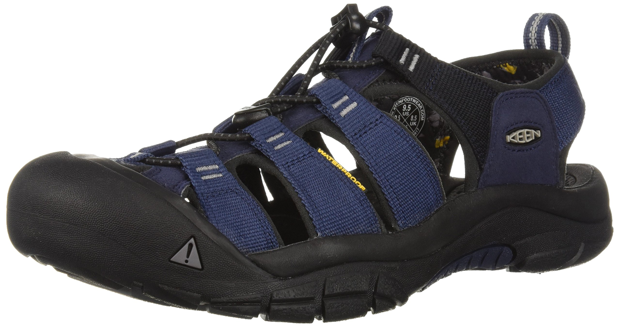 KEEN Men's Newport Hydro-M Sandal, Dress Blues/Steel Grey, 10.5 M US