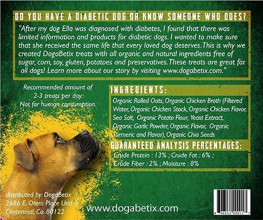 Amazon Com Ella S Diabetic Dog Treats Double Chicken Pack 16 Oz Pet Supplies