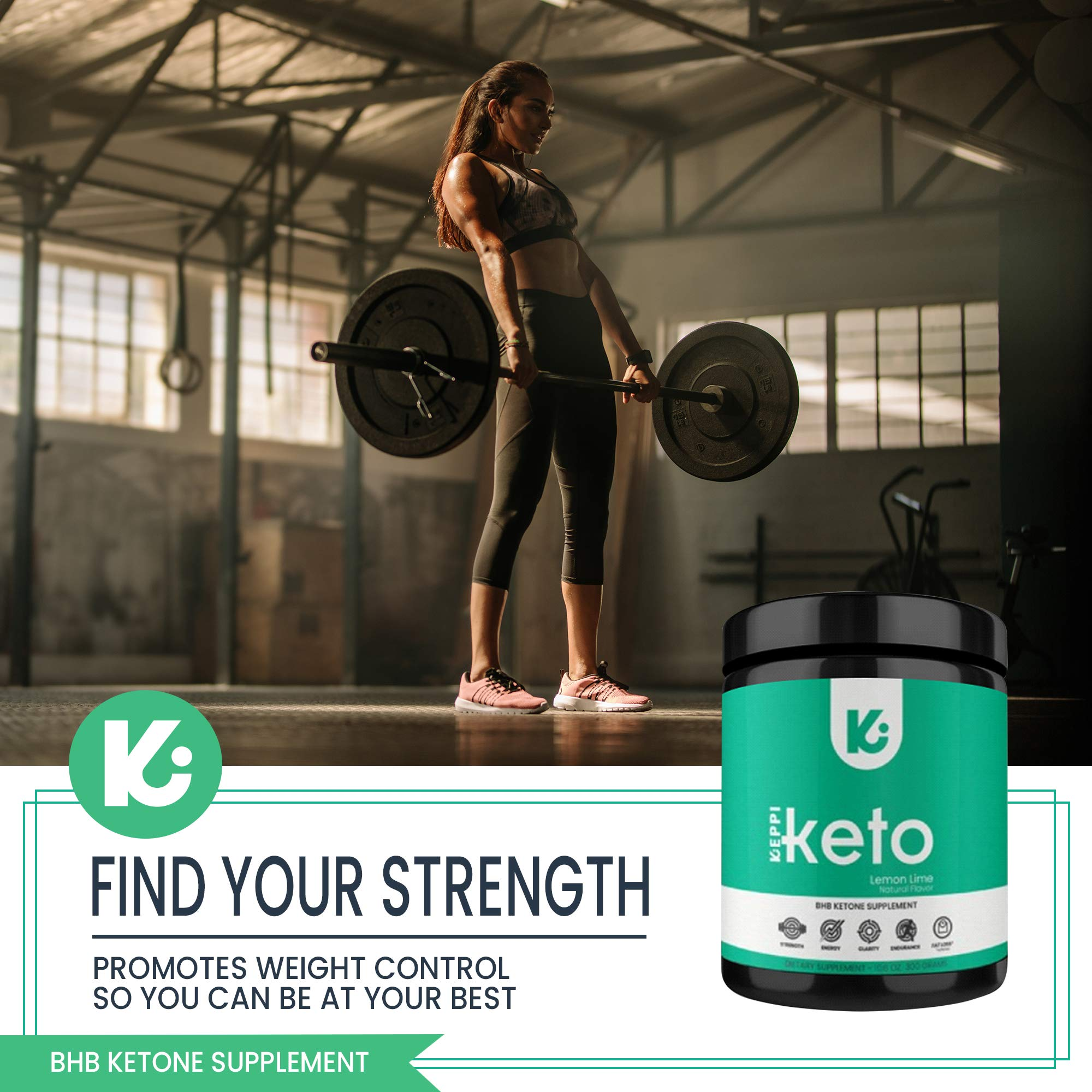 KEPPI Keto Exogenous Ketones Powder Supplement: Patented BHB Salts Formulated to Increase Energy, Burn Fat, Maintain Ketosis and Mental Focus on The Ketogenic Diet by Keppi (Image #6)