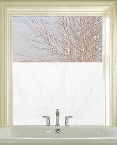 "ARTSCAPE Etched Glass Window Film 24"" x 36"""