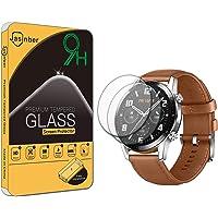 Jasinber 2-Pack Mica Cristal Templado Protector de Pantalla para Huawei Watch GT 2 (46mm)