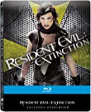 Resident Evil: Extinction Limited Edition Steelbook / Region Free Blu Ray / Import.
