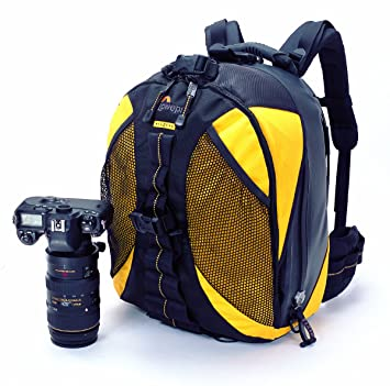 Amazon.com : Lowepro DryZone 200 Camera Backpack (Yellow) : Camera ...