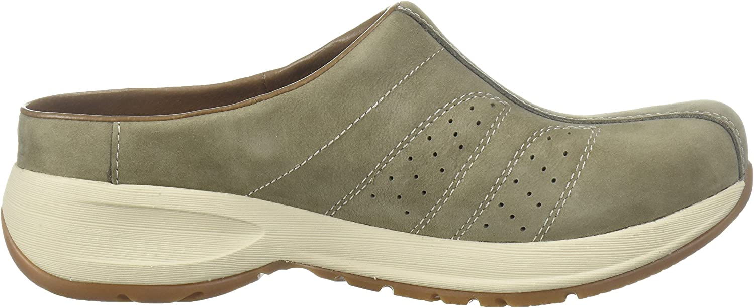 Shelly Mule, Taupe Milled Nubuck
