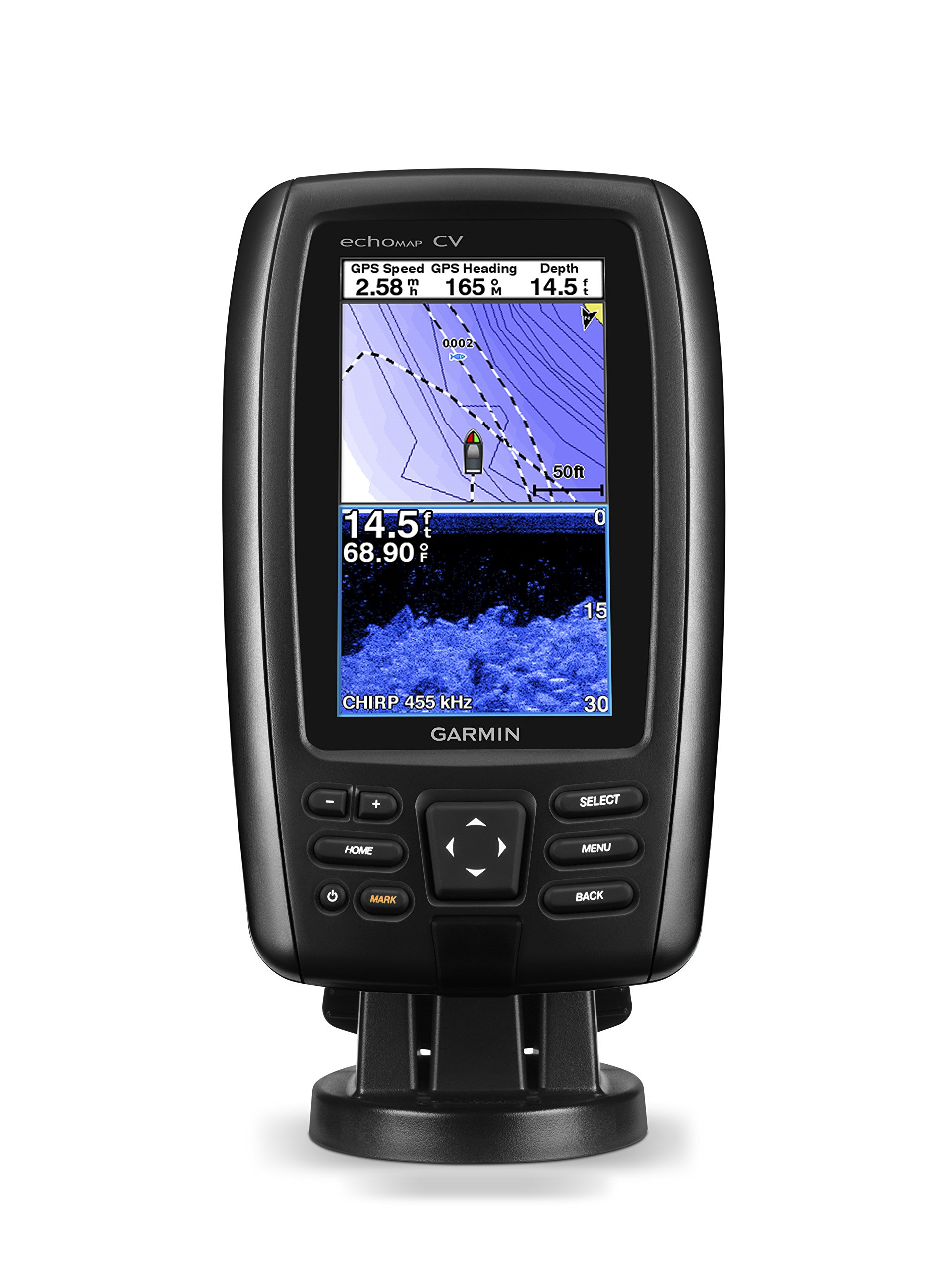 Garmin 010-01796-01 Echomap Chirp 43Cv with transducer by Garmin
