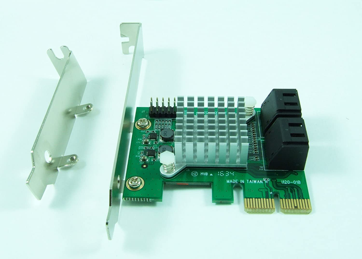 Ableconn PCIe SATA Adapter Card Interno Adaptador y Tarjeta ...