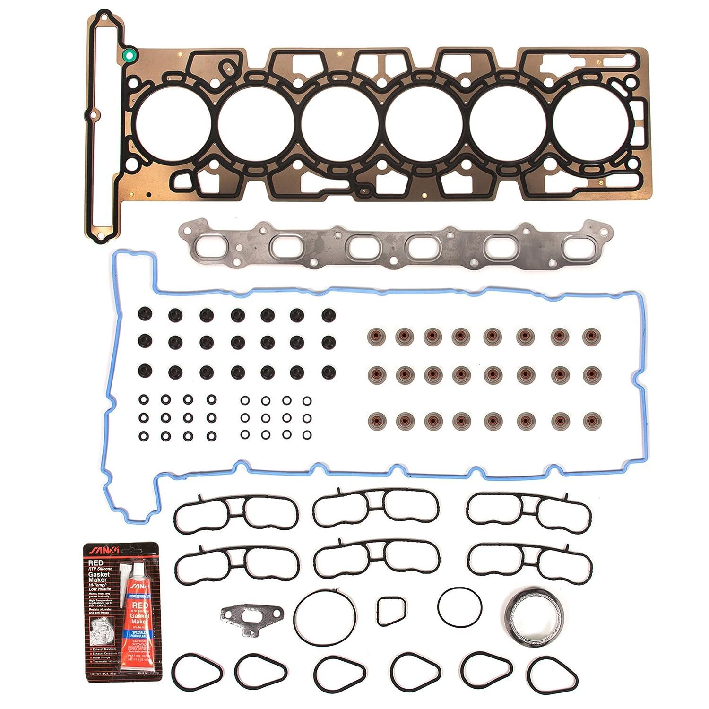 Amazon evergreen 8 10442e cylinder head gasket set automotive solutioingenieria Choice Image