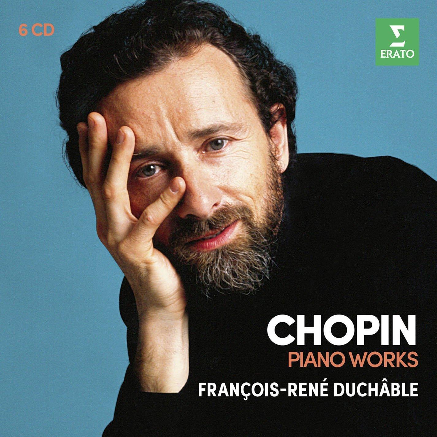CD : FRANCOIS-RENE DUCHABLE - Chopin: Concertos, Etudes, Sonatas 2 & 3, Polonaises (Boxed Set, 6PC)