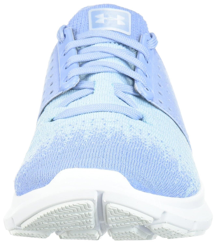 Under Armour Women's Speedform Slingwrap Fade Running Shoe B071NTGC9T 9.5 M US Chambray Blue (402)/Oxford Blue