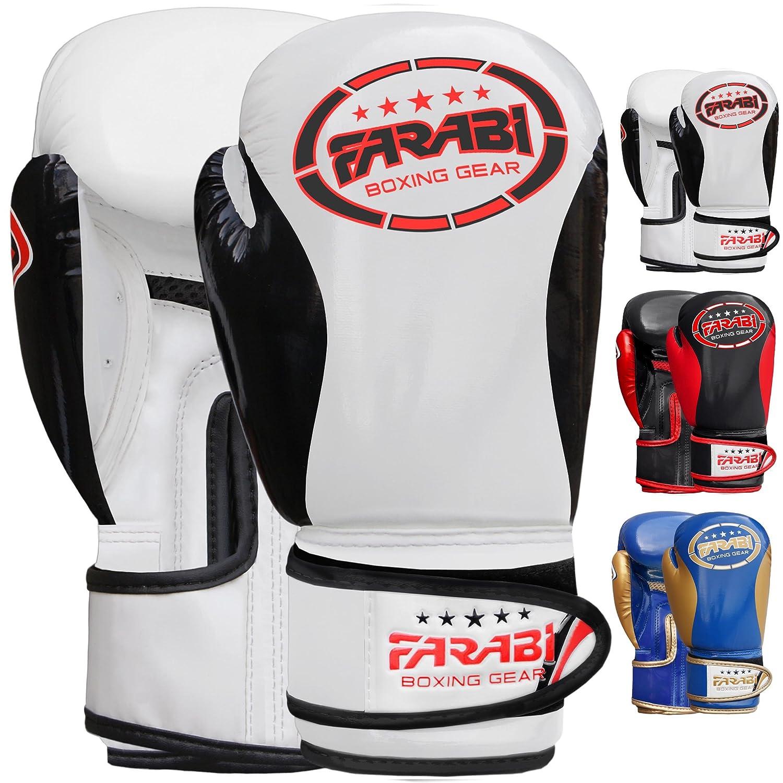 Kids Boxing Gloves Sparring Training Bag Pad Mitts Kick Boxing Martial Arts Juniors 2-oz 4-oz 6-oz 8-oz