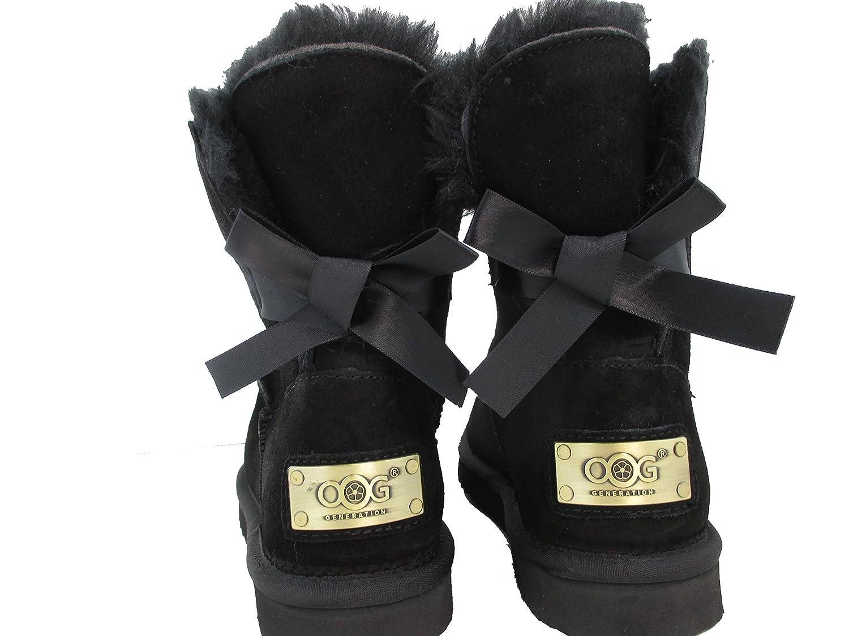 OOG GENERATION , Bottes de Neige femme - noir - noir,