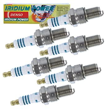 6 x Original denso Bujía Bujía Iridium Power iw27: Amazon.es: Coche y moto
