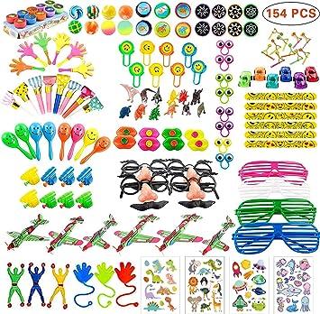Amazon.com: 154PCS premios de carnaval para niños fiesta de ...