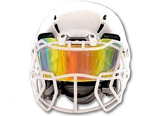 6bdcdf924c492 EliteTek Color Football   Lacrosse Eye-Shield Facemask Visor - Fits Youth    Adult Helmets
