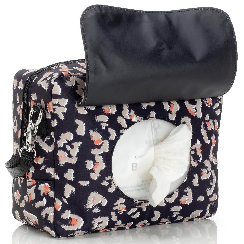 Leopard Storksak Mini Fix Changing Bag