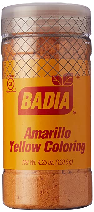 Amazon.com : Badia Yellow Coloring/Amarillo (specialty) 4.25 oz ...