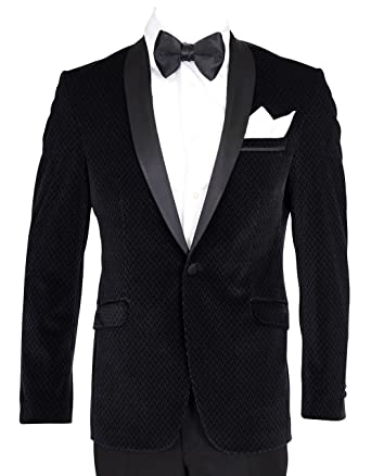 DOUBLE BREASTED DINNER JACKET WITH SATIN LAPELS SIZE 42 TO