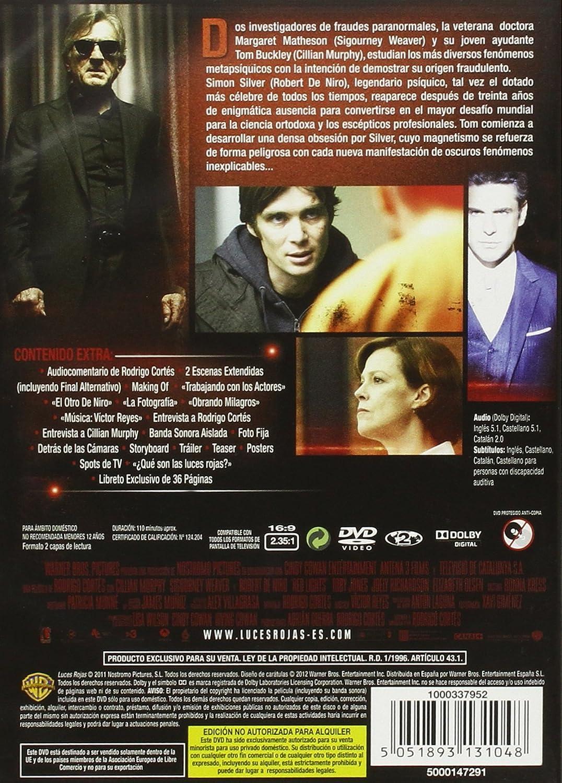 Amazon.com: Red Lights - Luces rojas (Import Movie) (European Format - Zone 2): Movies & TV