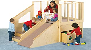 product image for Jonti-Craft 9750JC Tiny Tots Loft with 6 Bins, 12-24 Months