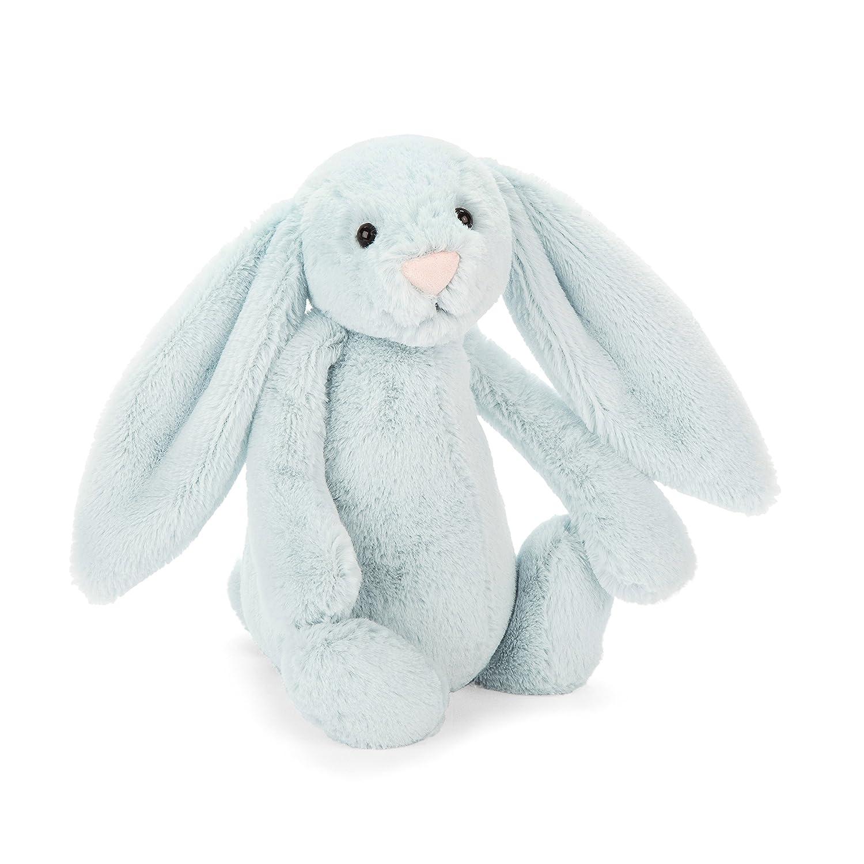 10 inches Jellycat Bashful Blush Bunny Chime Rattle Stuffed Animal