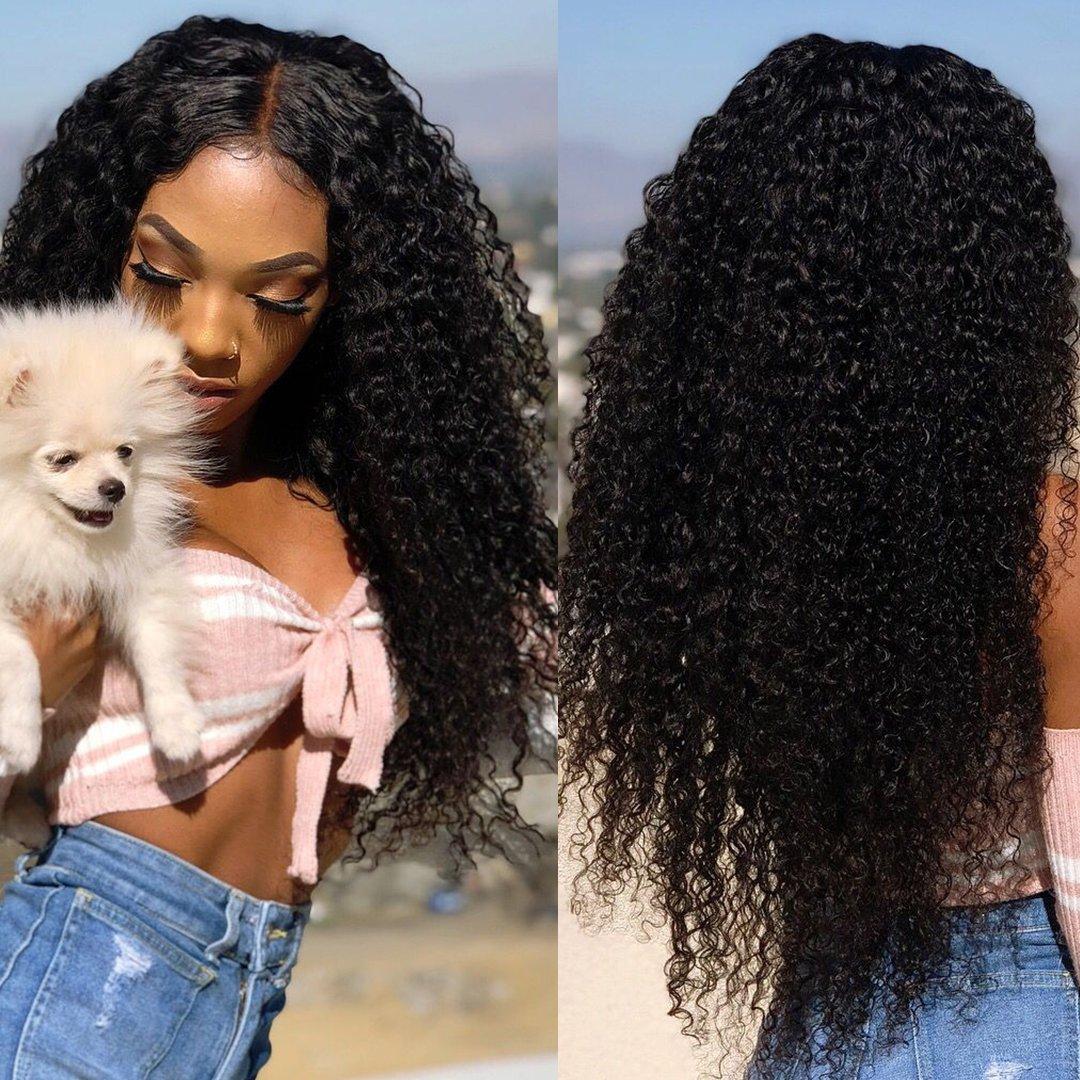 Amazon.com : Donmily 7A Brazilian Virgin Curly Hair 3 Bundles Weave ...