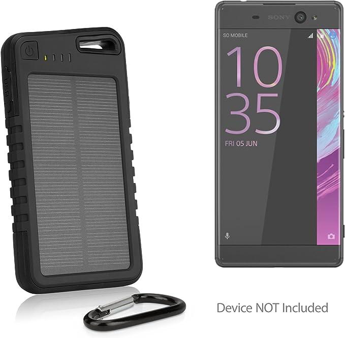Sony Xperia XA1 Ultra recargable, BoxWave [Solar Rejuva PowerPack ...
