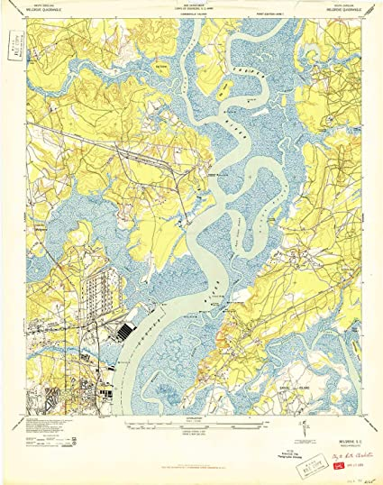 Amazon Com Yellowmaps Melgrove Sc Topo Map 1 24000 Scale 7 5 X