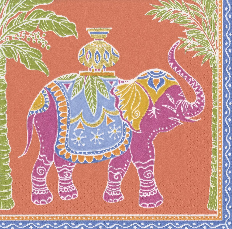 Paper Cocktail Napkins Beverage Jardin De Mysore Party Napkins 40 Pk