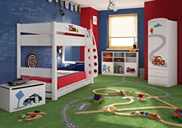 Schön Schlafzimmer Set Kindermöbel U0026quot;Carsu0026quot; Jugendzimmer Komplett  Kinderzimmer