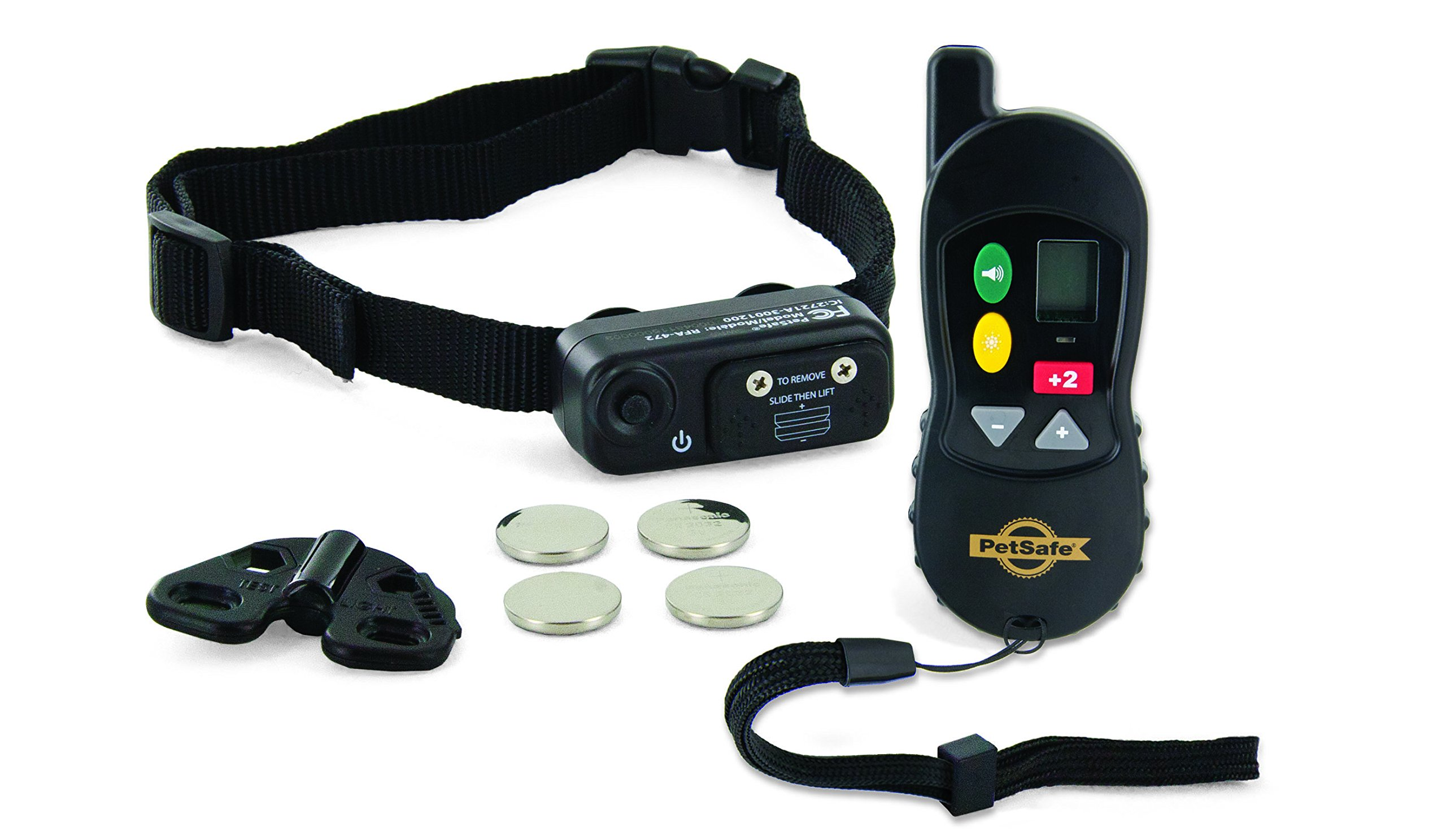 PetSafe Little Dog Remote Training Collar for Small and Medium Dogs from 8 - 40 lb. with Tone and Static Stimulation, Waterproof, Up to 100 Yards of Range, Electronic K-9 E-Collar